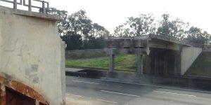 Demolição de Viadutos - local após remoção
