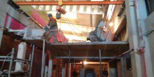 Corte e remoção de vigas e lajes, indústria em - SP - Maio - 2015