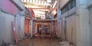 Corte e remoção de vigas e lajes, indústria em - Mogi Guaçu - SP - Maio - 2015