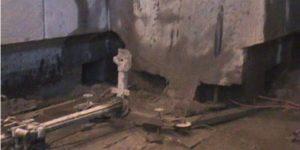 demolição controlada da moenda