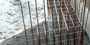 Perfuração em concreto para ancoragem