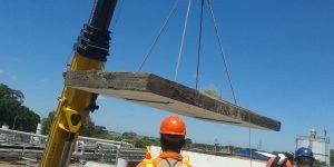 abertura de laje utilizando fita diamantada em industria alimentícia Araçatuba - SP