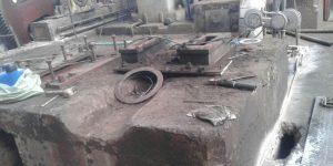 corte com fio diamantado em base de concreto - Usina de açúcar - Jacarezinho - Paraná