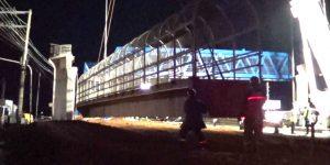 demolição de passarela com fio diamantado - Campinas - São Paulo