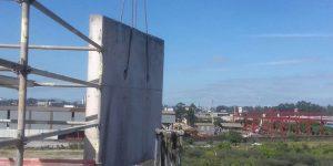 corte com fio diamantado e remoção de viga de apoio na Rodovia em São Paulo