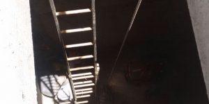 furos em laje na caixa de água - Campinas - São Paulo