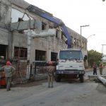 demolição controlada em Campinas