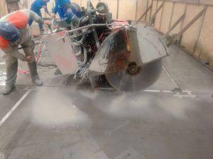 corte e remoção de piso Industrial em Indaiatuba - São Paulo