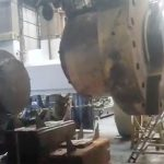 corte em eixo de aço com fio diamantado - Indústria em Campinas - São Paulo