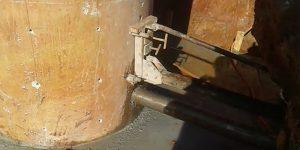 Perfurações para reforço de pilar - Taubaté - São Paulo