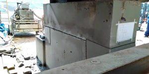 corte em base de concreto com fio-diamantado em Fábrica - Botucatu - SP