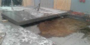 corte em piso de concreto com maquina cortadora de pavimento serra clipper