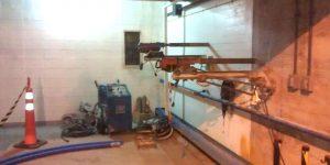 cortes e perfurações em concreto em Usina Hidrelétrica - Jupiá - MS