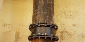 perfuração em concreto na estação de tratamento de água - Piracicaba - SP
