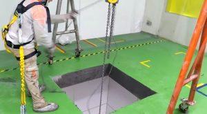 abertura em laje com fio diamantado Limeira - SP