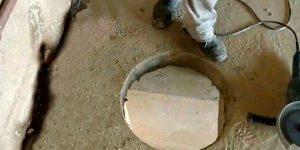 furo em laje de concreto - sp